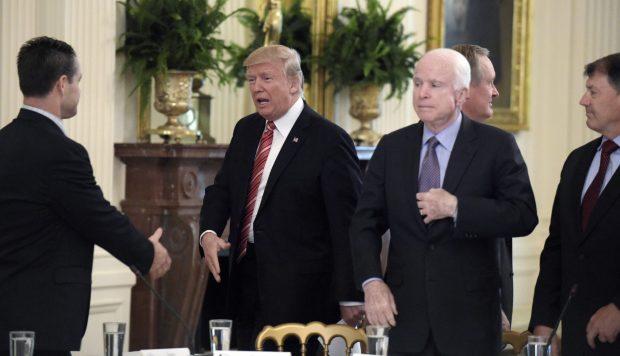 Trump and McCain