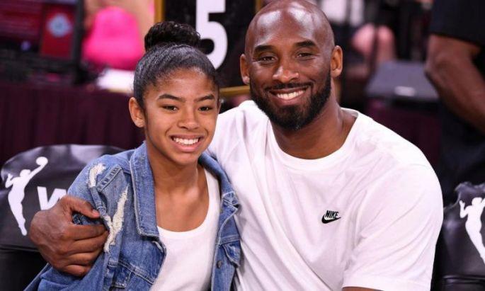 Kobe and daughter Gianna