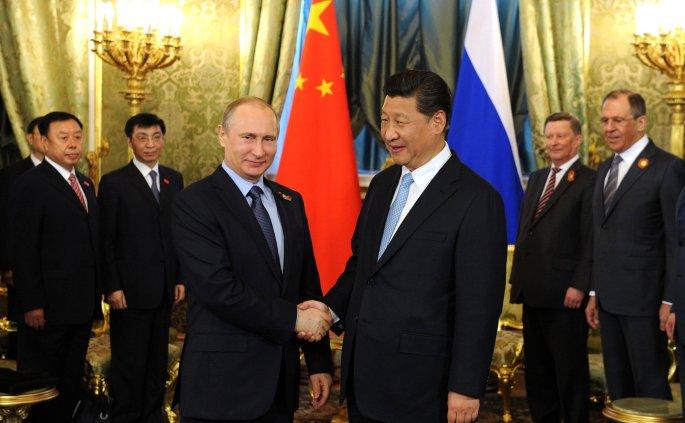 Xi Jinping and Putin 2