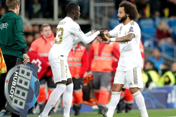 Férland Mendy and Marcelo 2
