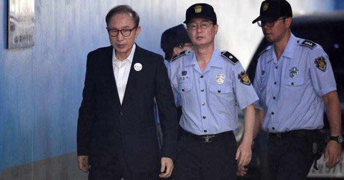 formerKorean president Lee Myung-bak
