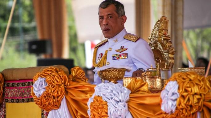 King of Thailand Maha Vajiralongkorn