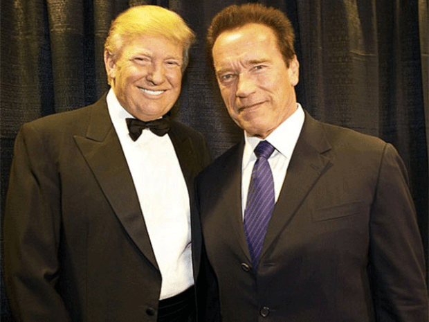 Arnold Schwarzenegger and Donald Trump 1