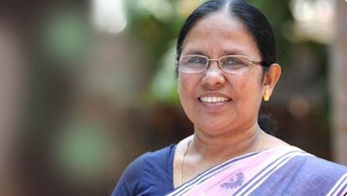 India Health Minister KK sHAILAJA