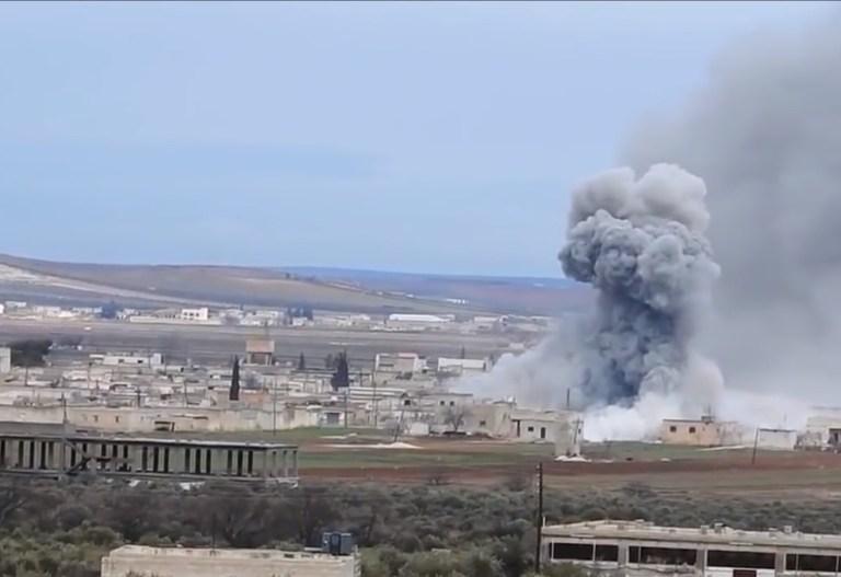 El Bab ve Rakka arasındaki bağlantıyı sağlayan yol, Suriye ordusunun kontrolüne geçti.