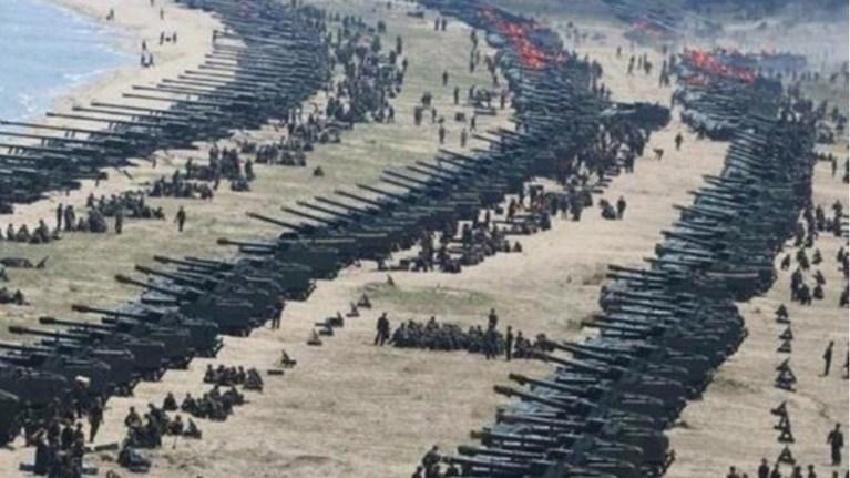 Kore yarım adasında her an ABD ile büyük bir savaş başlayabilir / video haber