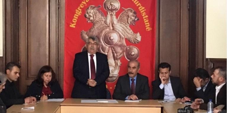 Kürt parti temsilcilerinden KDP'ye tepki