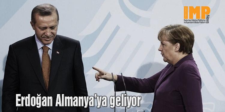 Erdoğan Almanya'ya geliyor