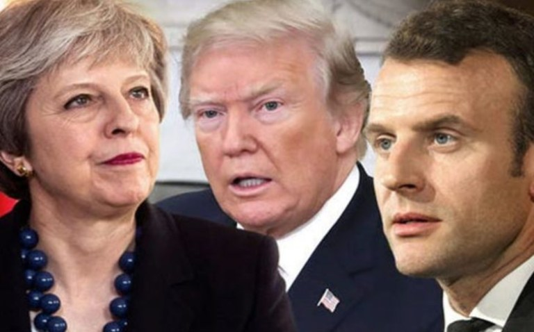 ABD, İngiltere ve Fransa'dan Esad'a açık tehdit: Harekete geçmekte kararlıyız!