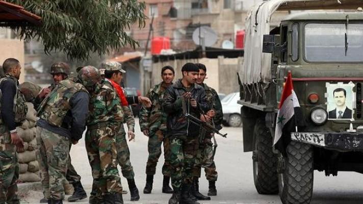Süriye ordusu ve müteffikleri İdlib'i üç koldan kuşattı