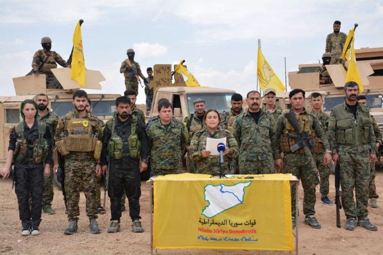 QSD komutanı:72 DAİŞ militani bize teslim oldu