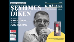 """Şeyhmus Diken'in Kitabı """"Ahım Var Diyarbakır"""" Almanca'da"""