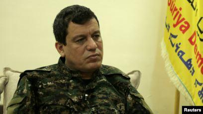 DSG Komutanı Mazlum Ebdi koalisyon komutanlarıyla görüştü Yavuz Özcan