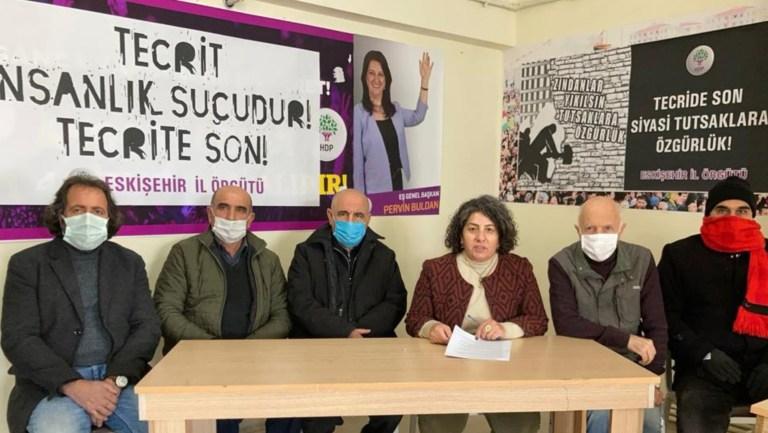 HDP Eskişehir İl örgütünden kamuoyuna açıklama