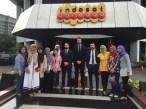 Visita y conferencia en INDOSAT