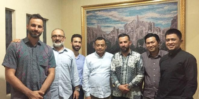 With Uztaz Bahtiar Nasir, AQL Islamic Center, Jakarta, Indonesia