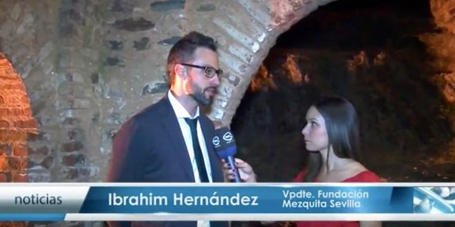Entrevistas a las autoridades en la presentación de las XVIII Jornadas de Cultura Islámica