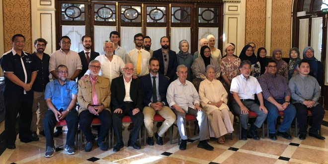 Recepción de Tun Abdullah en Sevilla