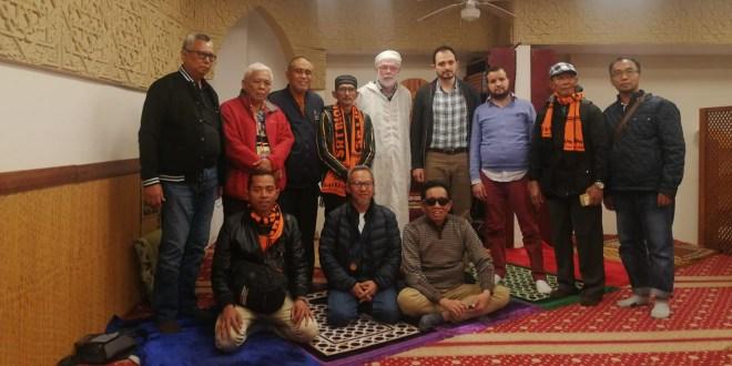 Visita de grupo de Indonesia a la Fundación Mezquita de Sevilla.