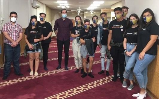 Visita de jóvenes de la Asociación Marroquí dentro del programa Convivesevilla 2020