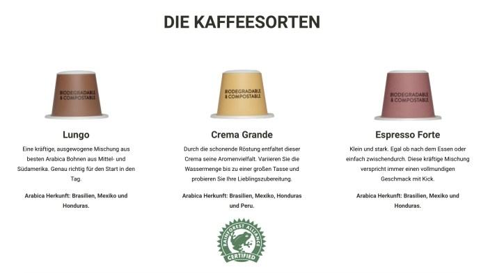 Krups Nespresso Essenza Mini und Kapseln 4