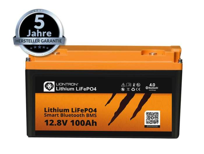 Liontron LiFePO4 LX Smart BMS 12.8V 100Ah 1