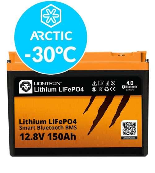 Liontron LiFePO4 LX Smart BMS 12.8V 150Ah Arctic 4