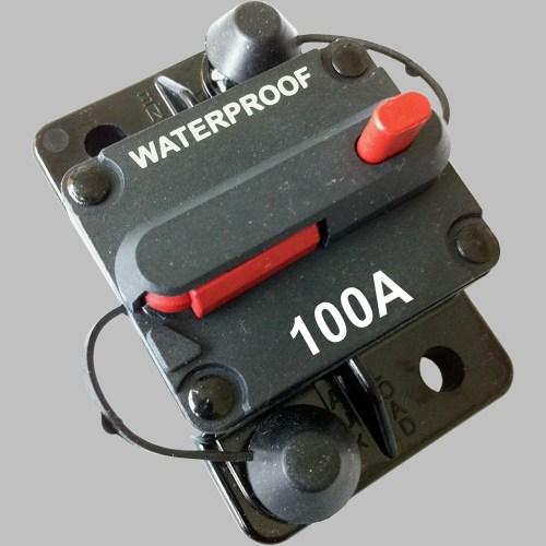 100A Sicherungs-Automat mit Resetschalter 1
