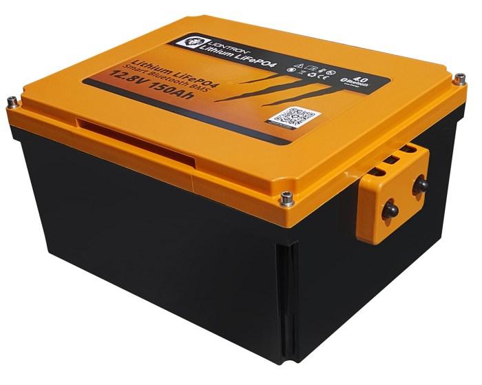 Liontron LiFePO4 Smart Wohnmobil Untersitz Batterie 12.8V 150Ah 1