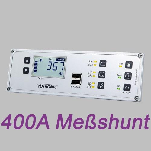 Multi-Panel-System, LCD Anzeige, 12V, Batteriemonitor und 400A Shunt 6