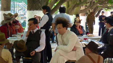 "Scen ur kommande filmen ""Eisenstein in Guanajuato"" med Elmer Bäck. Foto: Karin S. de Boer."