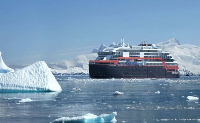 Hurtigruten S New Green Tech Ship Starts Sea Trials