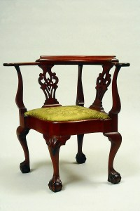 Roundabout (or corner) chair | Museum of Fine Arts, Boston