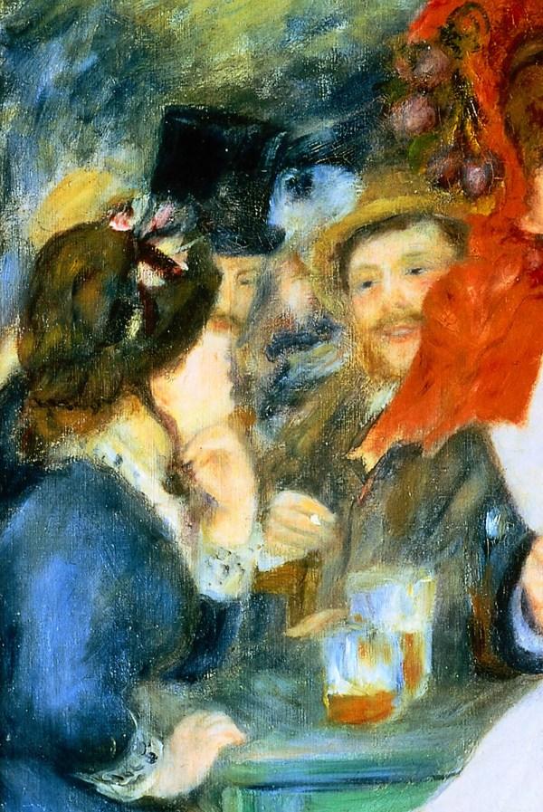 Renoir Dance at Bougival Painting