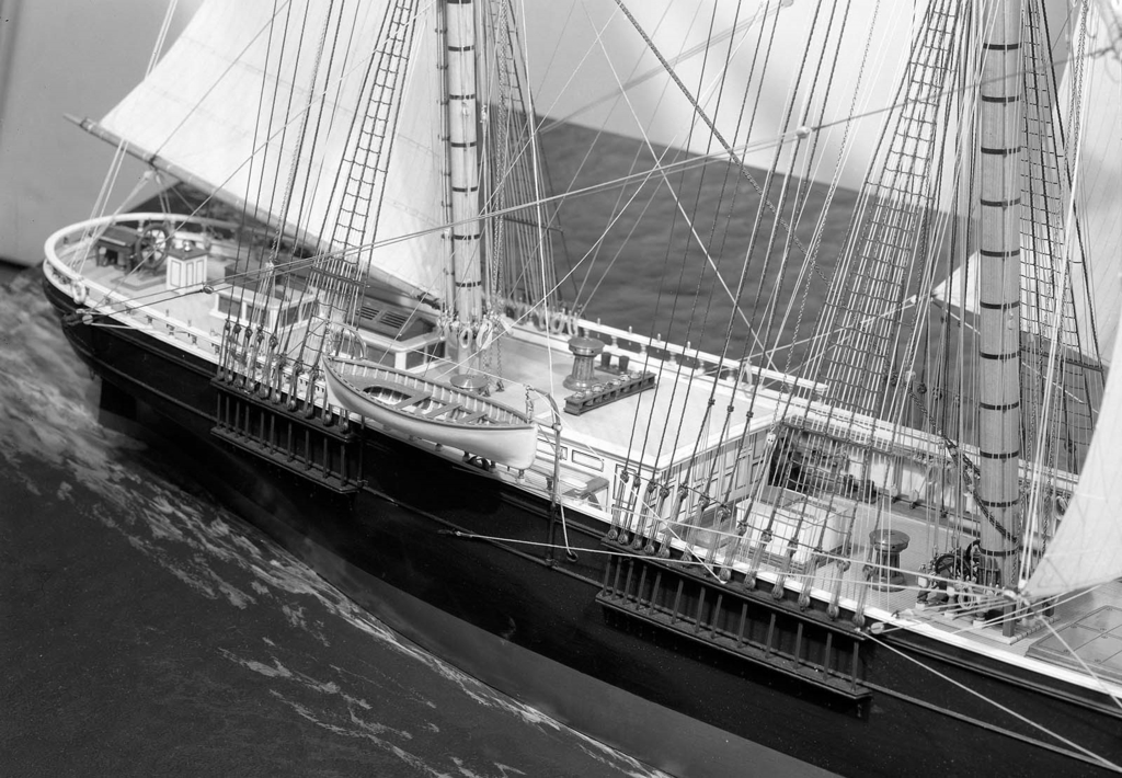 Clipper ship Flying Cloud  Museum of Fine Arts Boston