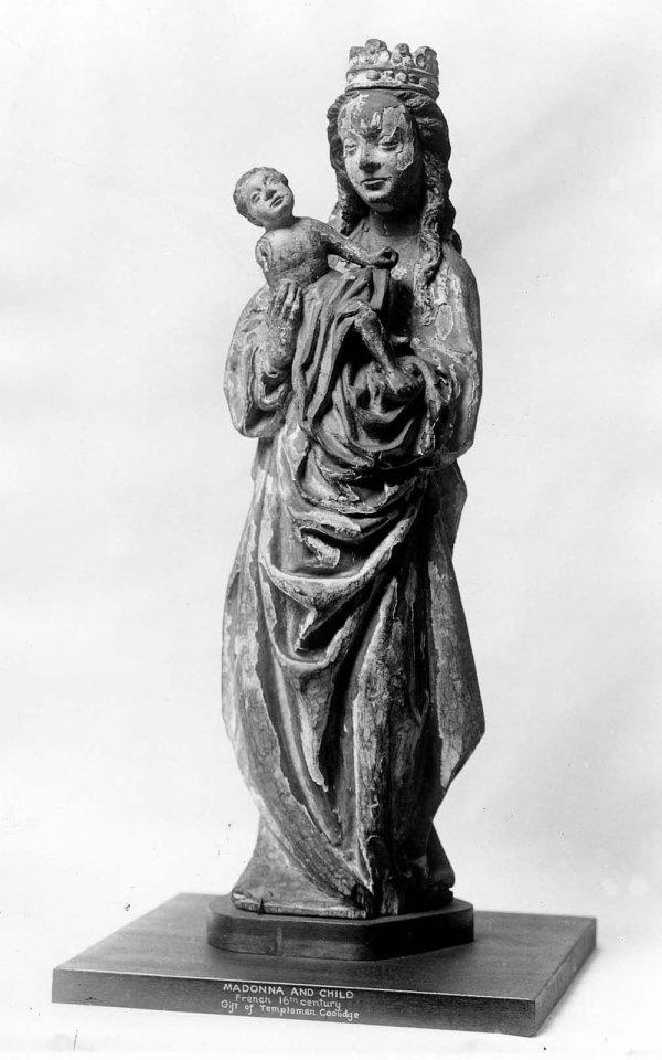 Black Madonna and Child Statue