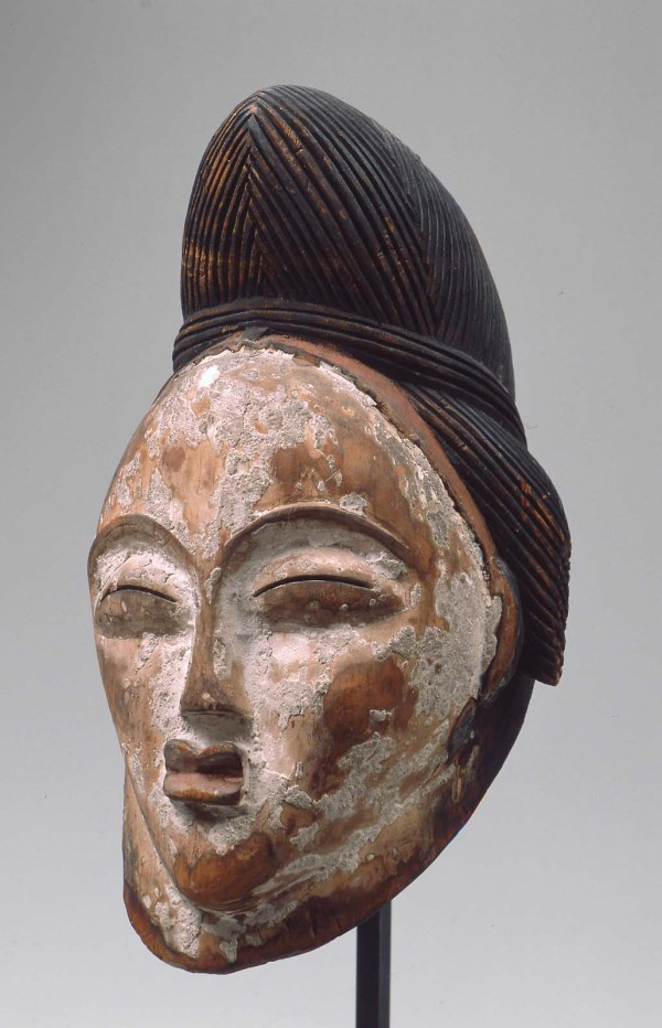 Punu Mask Okuyi Museum Of Fine Arts Boston