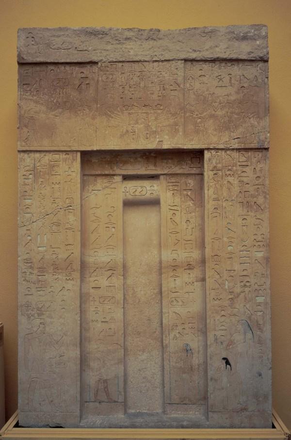 False Door Of Khufuankh Museum Fine Arts Boston