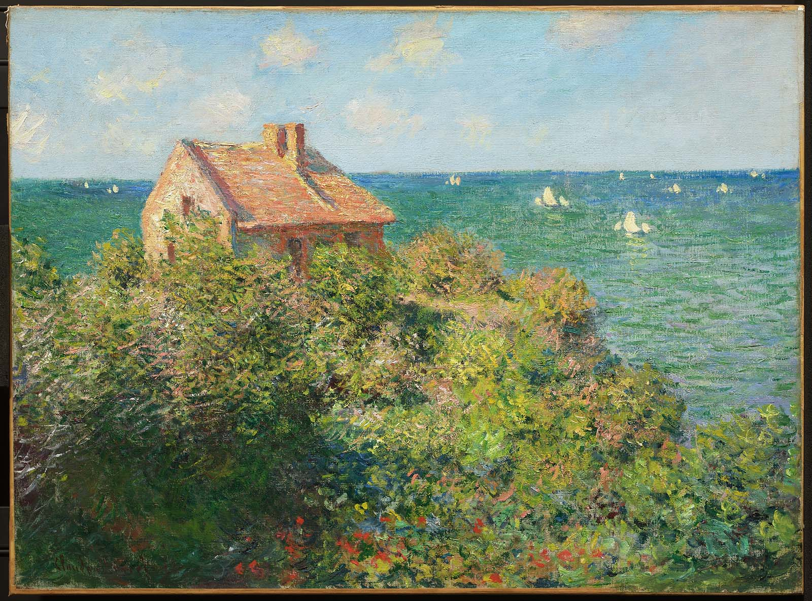 Fishermans Cottage on the Cliffs at Varengeville  Museum of Fine Arts Boston