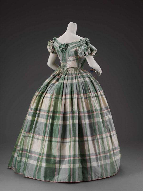 Woman' Evening Dress Museum Of Fine Arts Boston