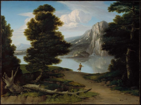 Landscape With Lake Museum Of Fine Arts Boston
