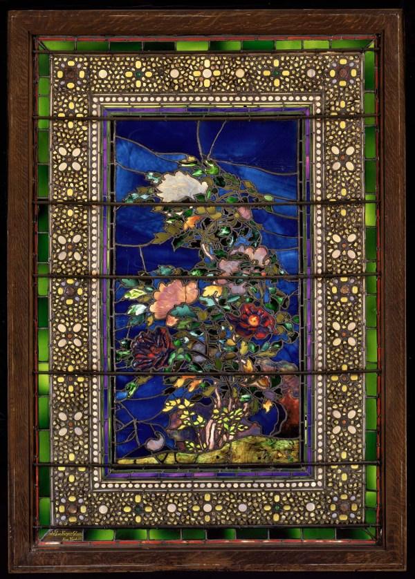 """peonies Blown In Wind"" Window Museum Of Fine Arts"