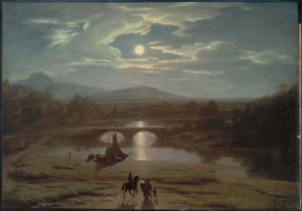 Washington Allston Moonlit Landscape