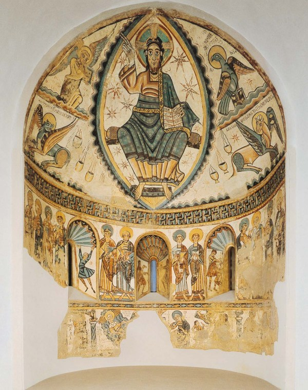 Christ In Majesty With Symbols Of Four Evangelists