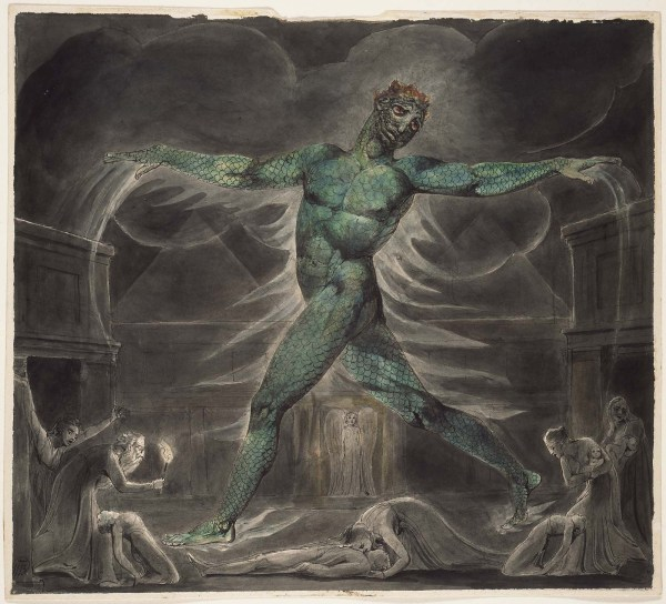 William Blake Death