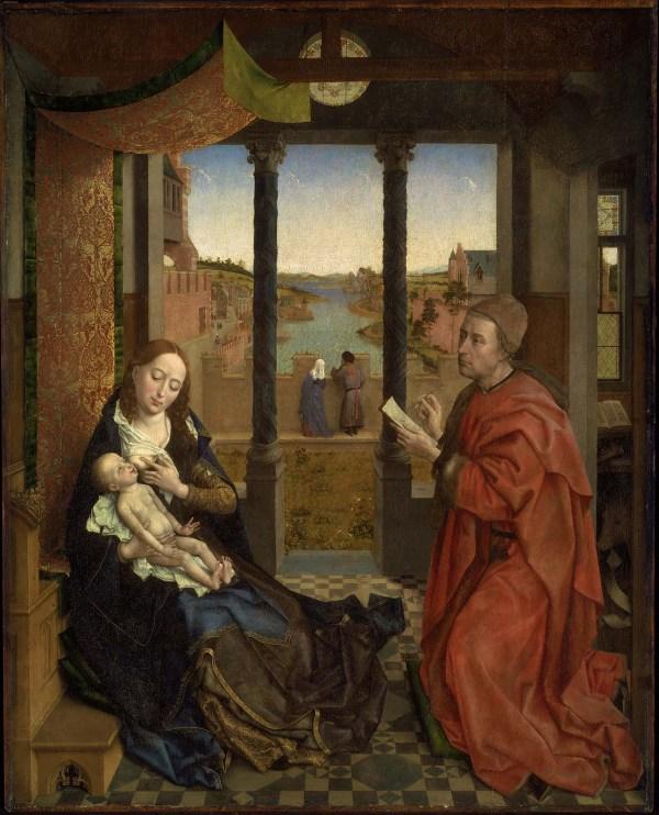 Rogier Van Der Weyden Saint Luke Drawing