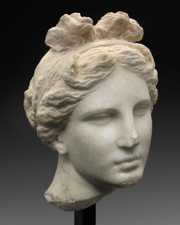 "Head Of Aphrodite "" Bartlett Head"" Museum Fine"