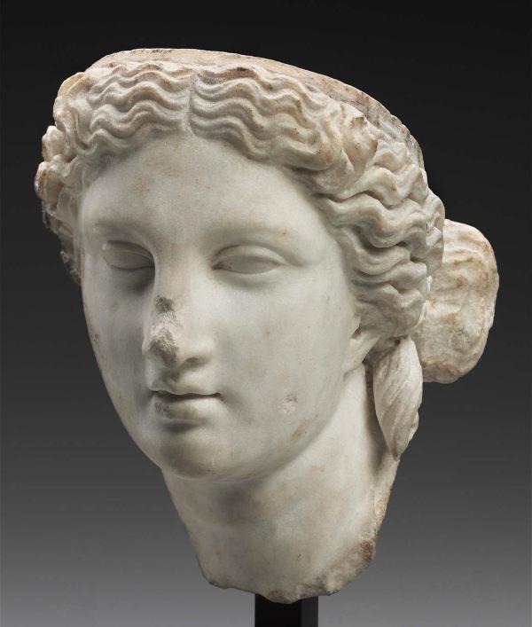 Head Of Aphrodite Museum Fine Arts Boston