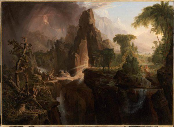 Expulsion Garden Of Eden Museum Fine Arts