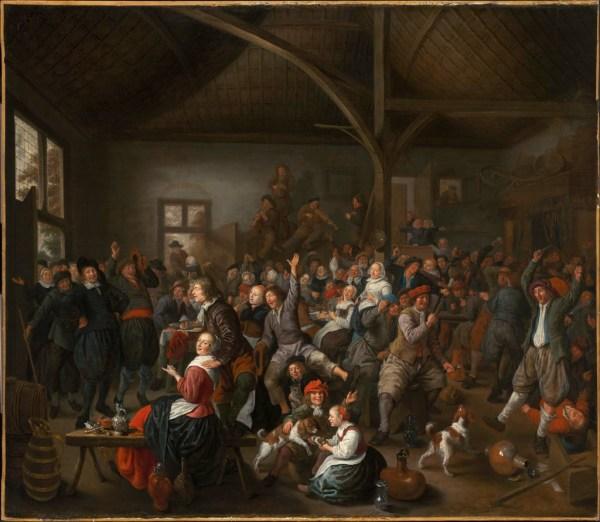 Peasants Carousing Museum Of Fine Arts Boston